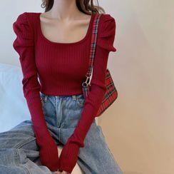 Magimomo - Puff-Sleeve Sweater