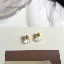 ALBIMO - 玻璃灯泡合金耳环