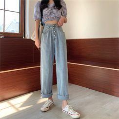 Moon City - 直腿牛仔褲