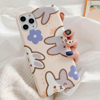 Primitivo - Rabbit Phone Case For iPhone 7 / 7 Plus / 8 / 8 Plus / X / XS / XR / 11 / 11 Pro / 11 Pro Max