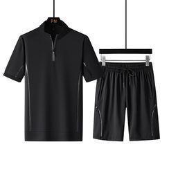 Stone Leo - 套装: 短袖上衣 + 运动短裤