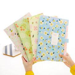 Fun House - Floral Print Document Folder