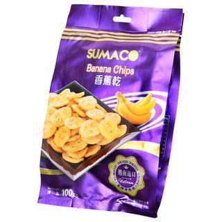 Three O'Clock - Vietnam Sumaco Dried Fruit Banana Chips 100g
