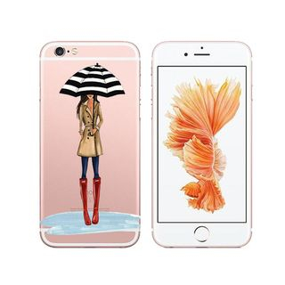 POEEM - Girl Print Mobile Case - iPhone XS Max / XS / XR / X / 8 / 8 Plus / 7 / 7 Plus / 6s / 6s Plus / 5s