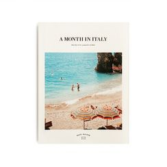 BABOSARANG - 'A Month in Italy' Printed Weekly Planner (S)