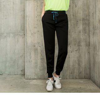 OrangeBear - Print Trim Drawcord Sweatpants