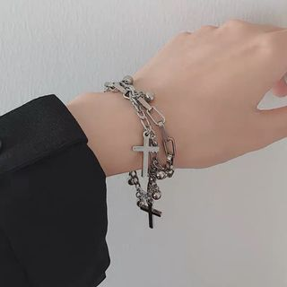 Catharsis - 十字架多层手链