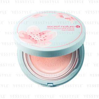 Secret Nature - Cherry Blossom Pink Tone Up Sun Cushion SPF 50+ PA++++