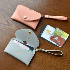 BABOSARANG - 'LOVELY HEART' Card Case with Strap