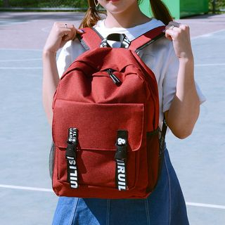Golden Kelly - Lettering Strap Backpack