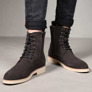 Pikkolo - Lace-Up Short Boots