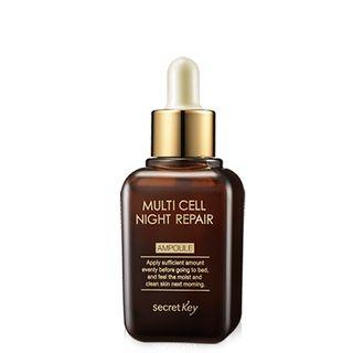 Secret Key - Ampoule réparatrice nuit Multi Cell Night Repair Ampoule 50ml