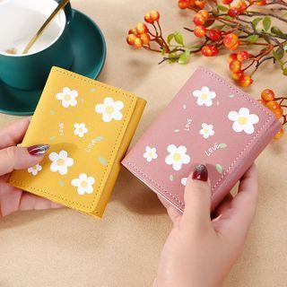 Bonnie Lonny - Flower Print Faux Leather Wallet