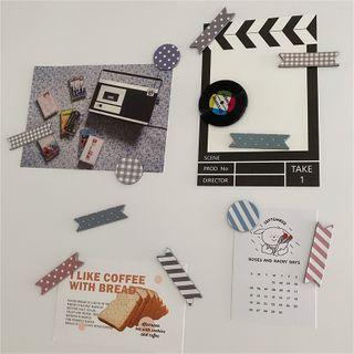 Oknana Home - Print Masking Tape / Sticker / Fridge Magnet