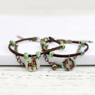 Cancion - Zodiac Disc String Bracelet (various designs)