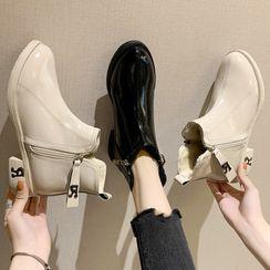 Deree - Lettering Short Boots