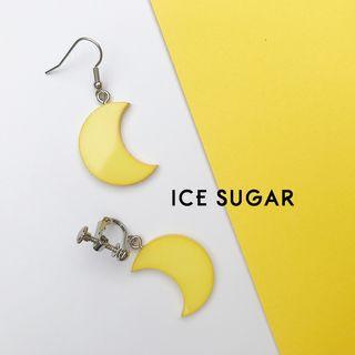 ICE SUGAR - Moon Drop Earring