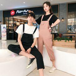 Bay Go Mall(ベイゴーモール) - Couple Matching Jumper Pants
