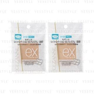 CEZANNE - UV Foundation EX Premium Refill 10g - 2 Types