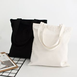 Cady - Canvas Plain Tote Bag