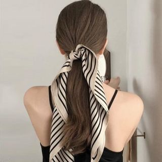 FEY TIY - 條紋色丁圍巾