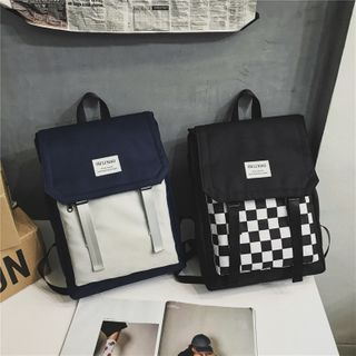 Willow Bloom - Lightweight Color Block Backpack