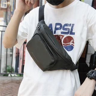 BagBuzz - Plain Zip Sling Bag