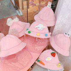 Hazy Beauty - 小童动物耳朵渔夫帽连面罩