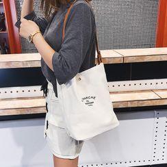 Tiff - 字母帆布手提袋