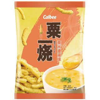 Calbee - Corn Potage Flavored Grill-A-Corn 80g