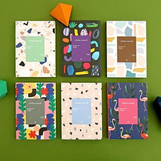 BABOSARANG - 'ALOHA' Patterned Weekly Planner (S)
