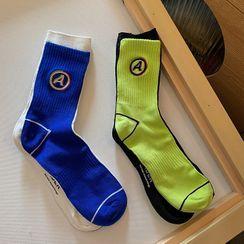 DASE(ダセ) - Lettering Socks