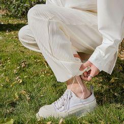 CHIC ERRO - Ribbed Sweatpants