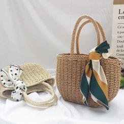 Kaiiza - Woven Mini Tote Bag