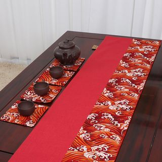 Sun East - Embroidered Table Runner (various designs)