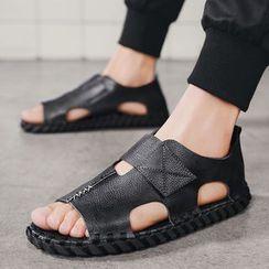 MARTUCCI - Faux Leather Sandals