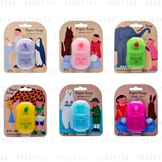 CHARLEY - Paper Soap 50 pcs - 6 Types