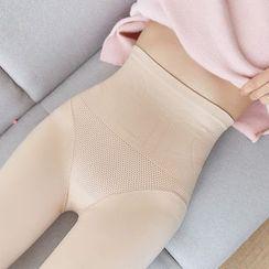 MITU - 抓毛内衬塑身贴身裤