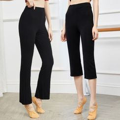 Winkplay - Cropped Straight-Fit Dance Pants