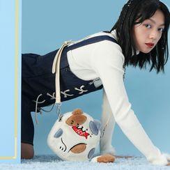 Nibby - Cat Furry Crossbody Bag
