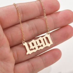 Terreau Kathy - Number Necklace