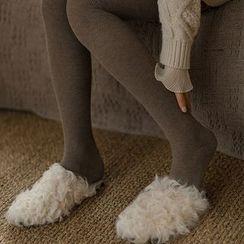 Kutsushita - 内加绒袜裤