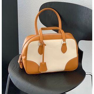 Kokora - Canvas Panel Shoulder Bag