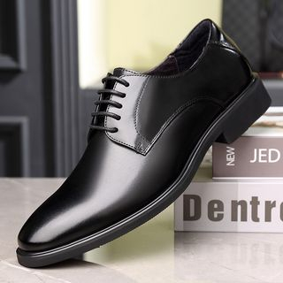 Kayne H - Genuine Leather Lace-Up Derby Shoes