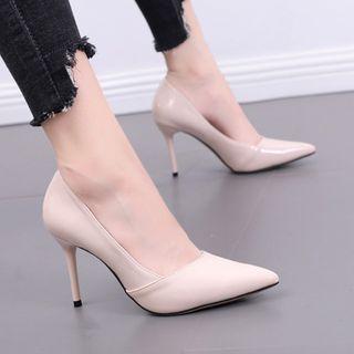 Anran - Pointed Stiletto Heel Pumps