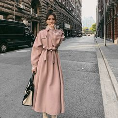 QUAIN - Long Wool  Coat