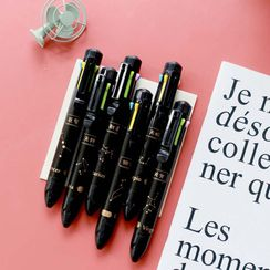 Setaria - Zodiac Print Multicolor Pen