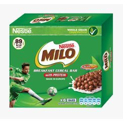 Three O'Clock - Nestle Milo Cereal Bar (pack of 6)