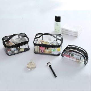 Yebeez - Travel Transparent Makeup Pouch