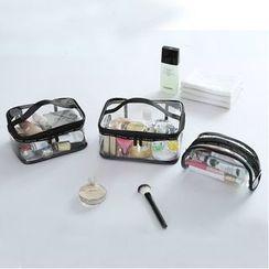 Yebeez - Travel Transparent Makeup Pouch